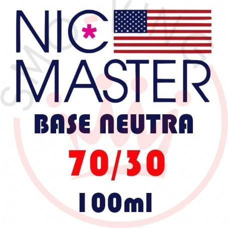 NIC MASTER Base Neutra Drip 70/30 100 ml