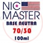 Nic Master Neutral Base Drip 70/30 100 ml