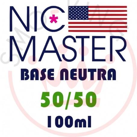 Nic Master Base Neutra Standar 50/50 100 ml
