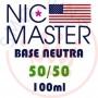 NIC MASTER Neutral Base Standard 50/50 100 ml