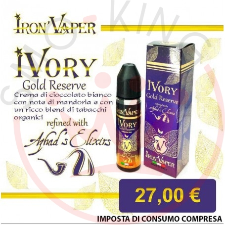 Iron Vaper Ivory Gold Reserve 40 ml Mix