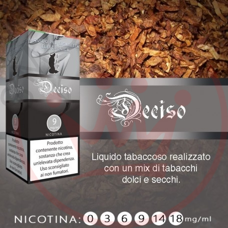 Lop Deciso 10 ml Liquido Pronto Nicotina