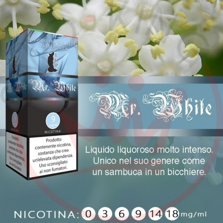 Lop Mr White 10 ml Liquido Pronto Nicotina