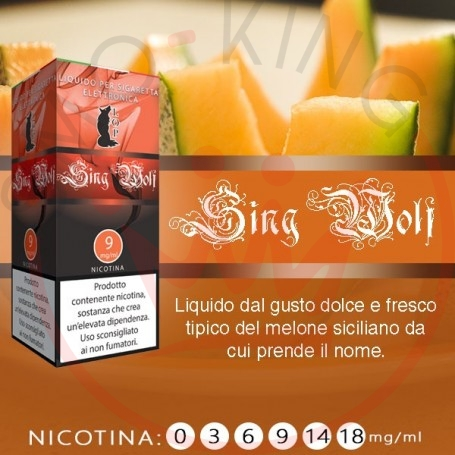 Lop Sing Wolf 10 ml Nicotine Ready Eliquid