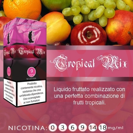 Lop Tropical Mix 10 ml Nicotine Ready Eliquid