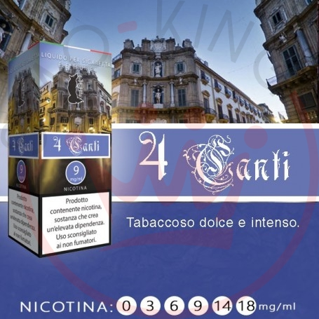 Lop 4 Canti 10 ml Nicotine Ready Eliquid