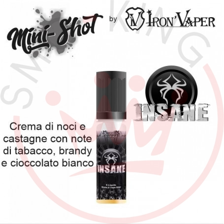 Iron Vaper Insane Mini Shot 5 ml