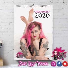 Boss Lady Vaper Calendar 2020