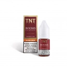 TNT Vape Booms 10 ml Liquido Pronto Nicotina