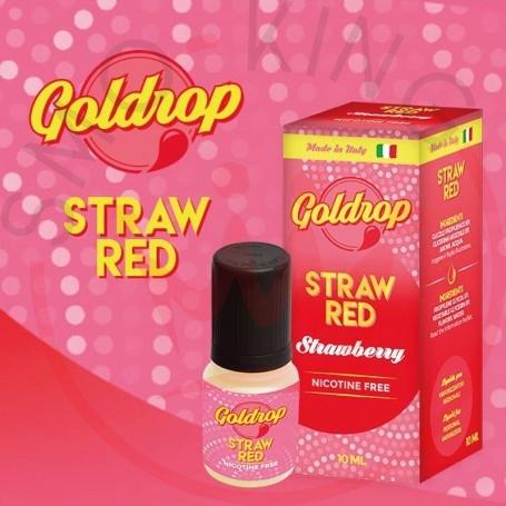 Vaporart Goldrop Strawred 10 ml Liquido Pronto Nicotina
