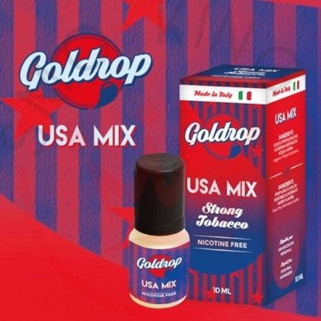 Vaporart Goldrop Usa Mix 10 ml Nicotine Eliquid