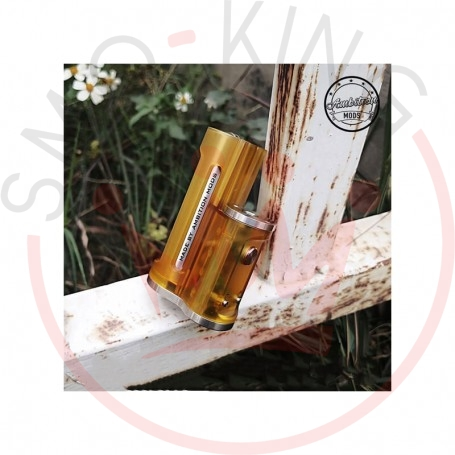 Ambition Mods Easy Side Box Mod 60W Yellow Frosted