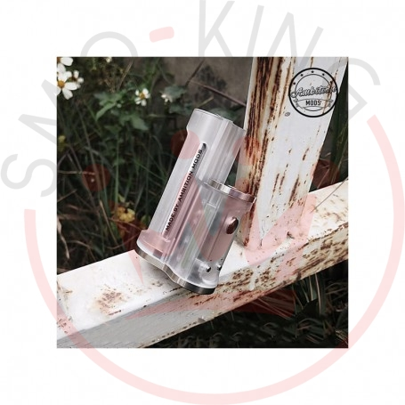 Ambition Mods Easy Side Box Mod 60W Clear Frosted