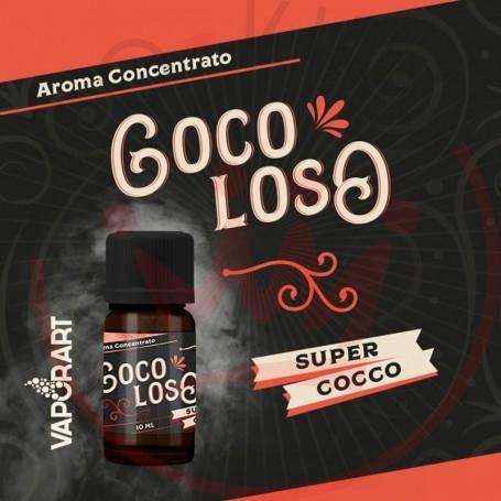 Vaporart Aroma Concentrato Coco Loso 10ml Liquido per Sigaretta Elettronica