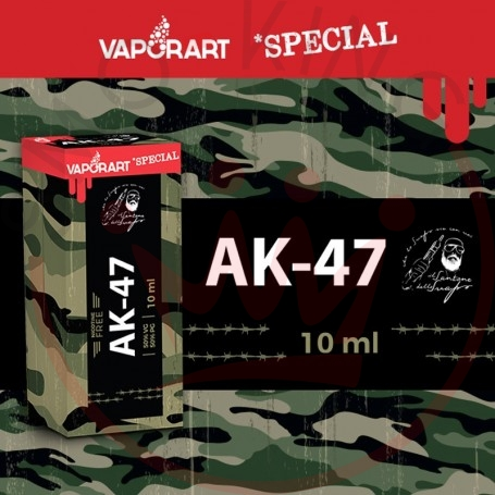 Vaporart AK-47 10 ml Nicotine Ready Liquid