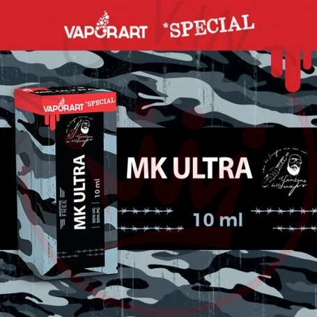 Vaporart MK Ultra 10 ml Nicotine Ready Liquid