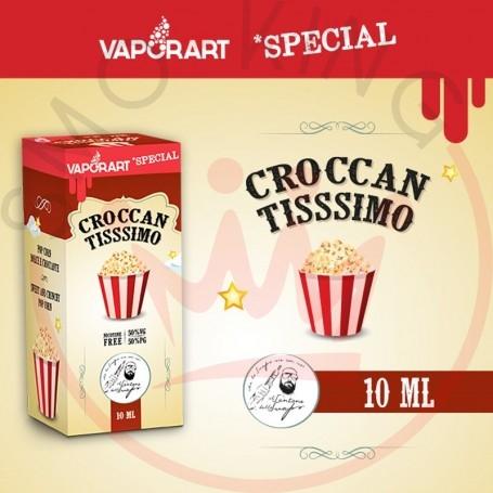Vaporart Croccan Tissimo 10 ml Liquido Pronto Nicotina per Sigaretta Elettronica