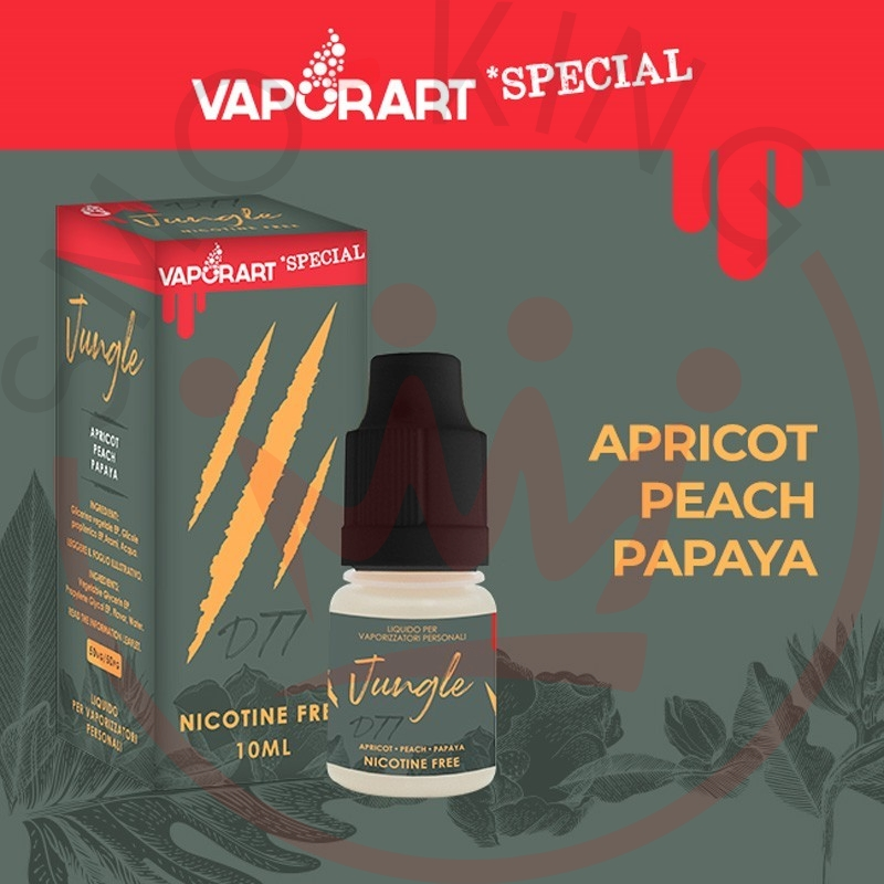 Vaporart Jungle 10 ml Liquido Pronto Nicotina