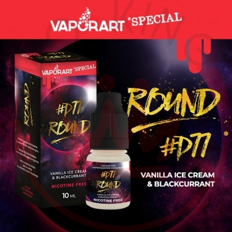 Vaporart Round 10 ml Nicotine Ready Liquid