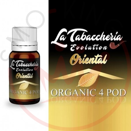 La Tabaccheria Organic 4 Pod Single Leaf Oriental Aroma 10 ml per Sigaretta Elettronica