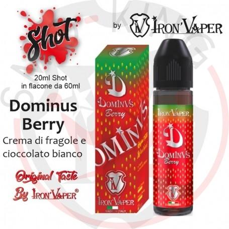 Iron Vaper Dominus Berry Aroma 20 ml in 60 ml Liquido per Sigaretta Elettronica .web