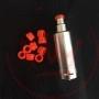 Svoemesto Kayfun 5 Drip Tip Plexi Arancione 4mm