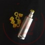 SVOEMESTO Kayfun 5 Drip Tip Plexi Yellow 4mm
