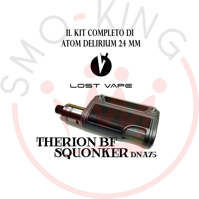 LOST VAPE Therion Bf Squonker Dna75 With Atom Delirium