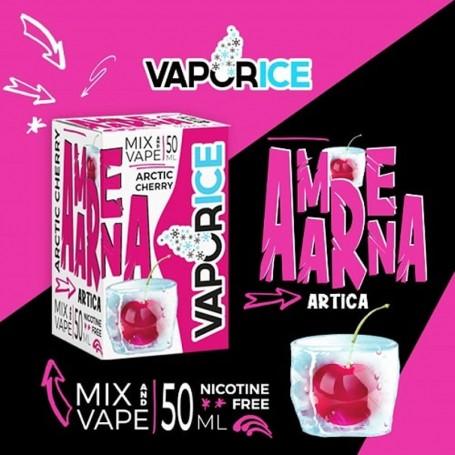 Vaporart Vaporice Amarena Artica 50 ml Mix Liquido per Sigaretta Elettronica