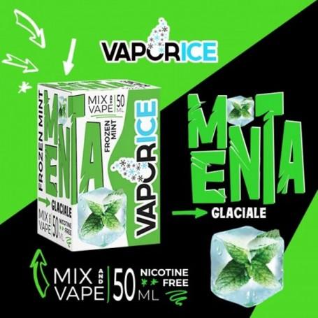 Vaporart Vaporice Menta Glaciale 50 ml Mix Liquido per Sigaretta Elettronica