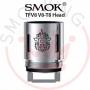 Smok Tfv8 V8t8 Octuple Coils Resistenze di Ricambio Pacco Da 3