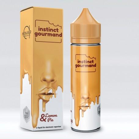 Alfaliquid Instinct Gourmand Lemon & Pie 50 ml Mix Liquido per Sigaretta Elettronica