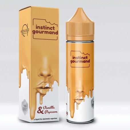 Alfaliquid Instinct Gourmand Vanilla & Popcorn 50 ml Mix Liquido per Sigaretta Elettronica