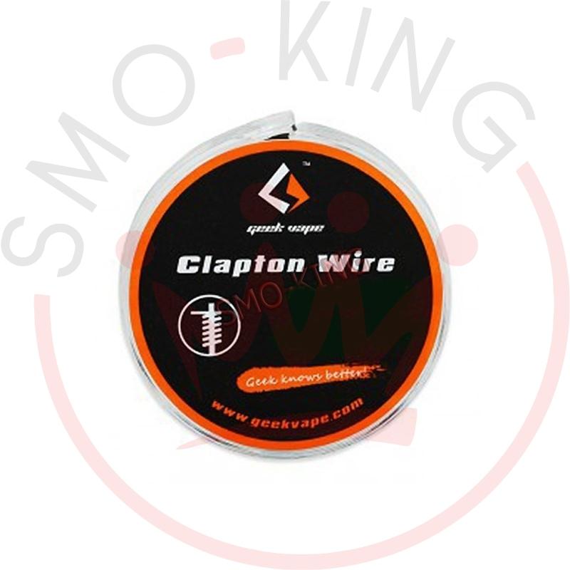 Geekvape Kanthal A1 Flat Clapton Wire Ribbon 26gax18ga+32ga 3mt
