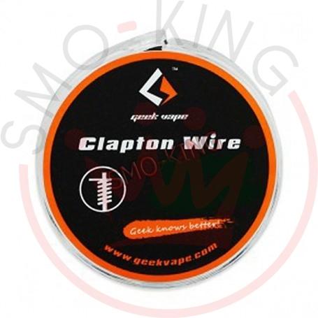 Geekvape Ss Flat Clapton Wire Ribbon 26ga X2 X18ga+32ga 3mt