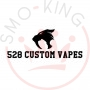 528 Custom Vapes Goon Rda Dripping 24mm Silver