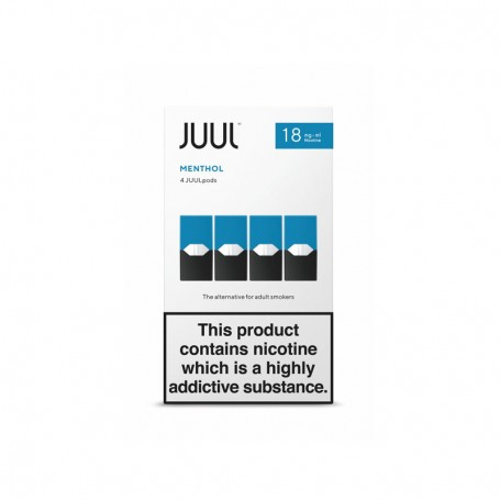 JuulPods Menthol Nicotina by Juul