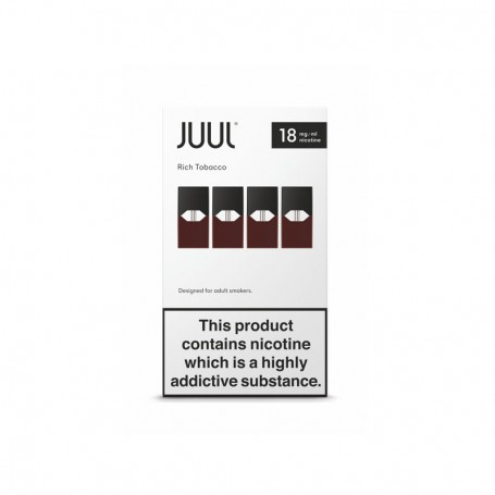 JuulPods Rich Tobacco Nicotina by Juul