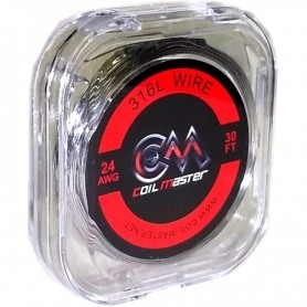COIL MASTER Ss 316l 24 Awg 0,51 MM 10 METRES