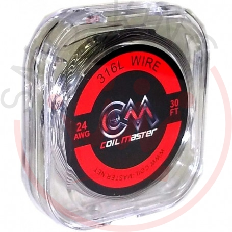 Coil Master Ss 316l 24 Awg 0,51mm10ml