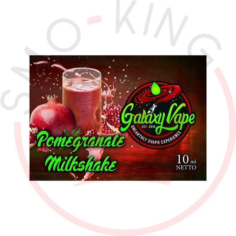 Galaxy Vape Pomegranate Milkshake 10ml