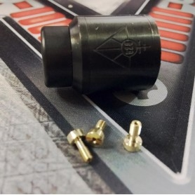 Pin Bottom Feeder Brass Goon Rda Dripping 24 22mm