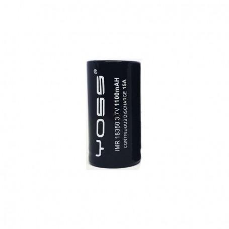 Yoss Battery 18350 1100mAh 15A