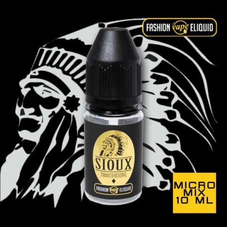 Fashion Vape Eliquid Sioux Tobacco Reserve MICRO MIX 10ml