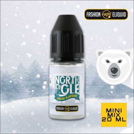 Fashion Vape Eliquid North Pole Fresh Flavour MINI MIX 20ml