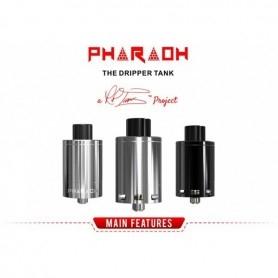 Pharaoh The Dripper Tank Rip Trippers Digiflavor 25mm Silver