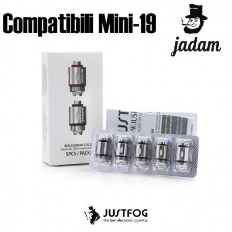 RESISTENZE MINI-19 Compatibili JUSTFOG
