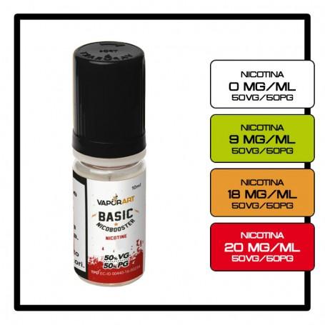 Vaporart Base 10 ml 50/50 Nicotina