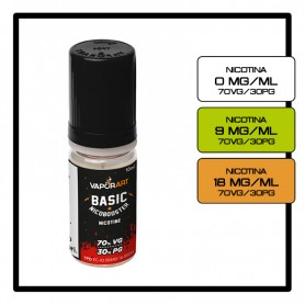 Vaporart Base 10 ml 70/30 Nicotina