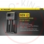 Nitecore Intellicharger New i2 Caricabatterie